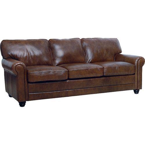 Lambdin Leather Sofa in 2019 | For the Home | Sofa, Italian ...