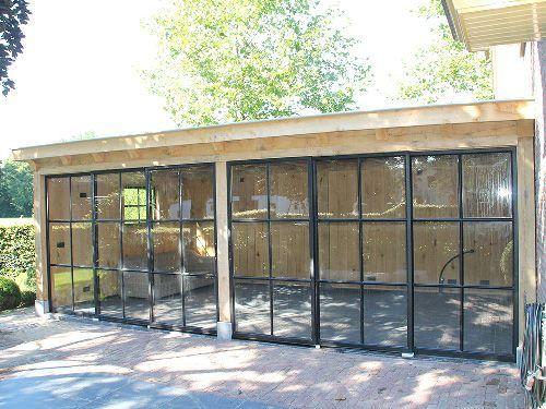 Tuyn-Room - Gartenzimmer mit Stahlfenstern,  #gartenhaus #gartenzimmer #stahlfenstern, #Überdachungterrasse