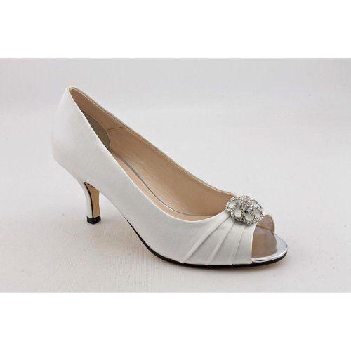 Caparros Women S Amelia Bridal Shoes Color White Size 6