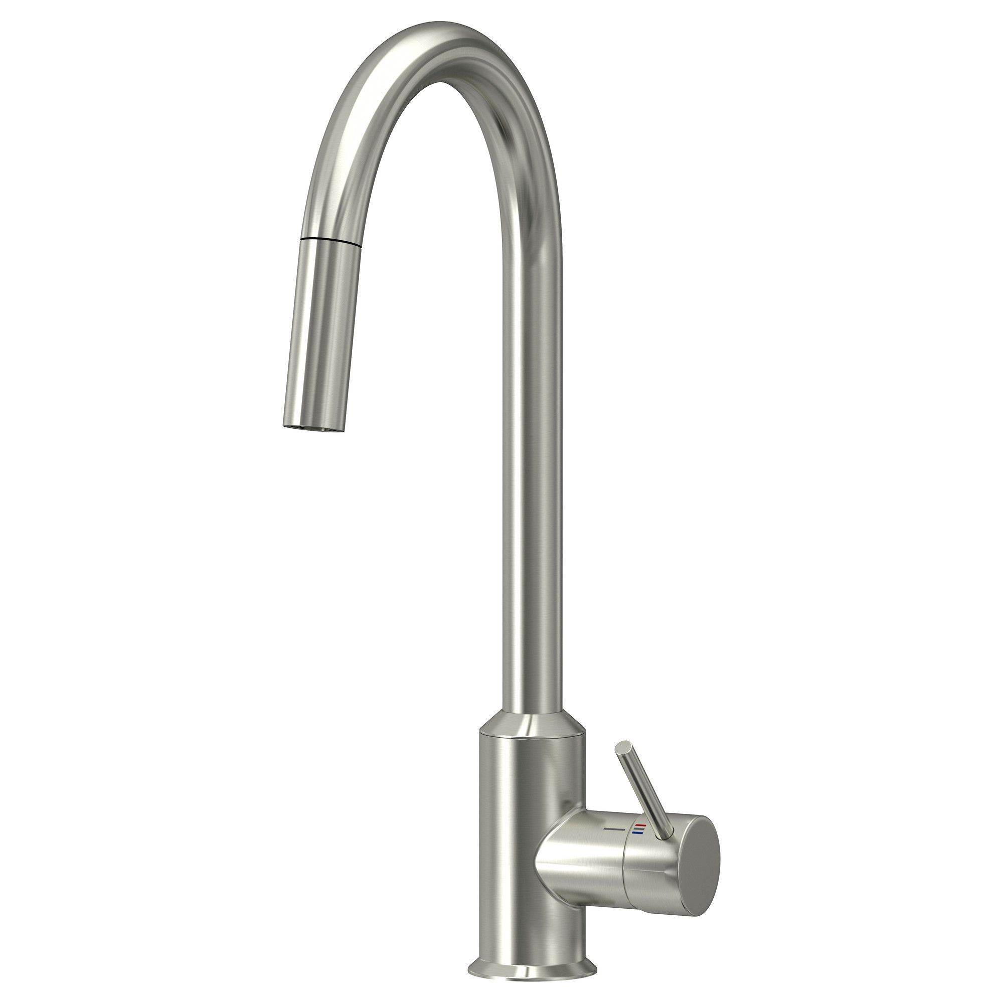 Ringsk 196 R Kitchen Faucet With Pull Out Spout Ikea