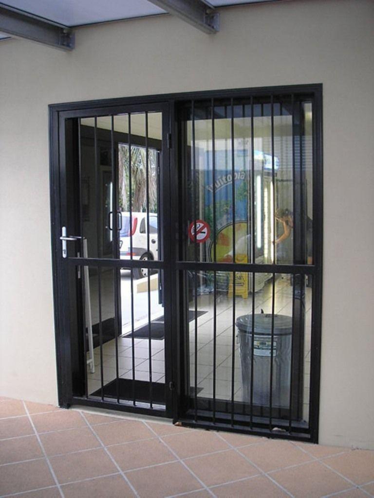 Burglar bars for sliding sliding glass doors patio iron