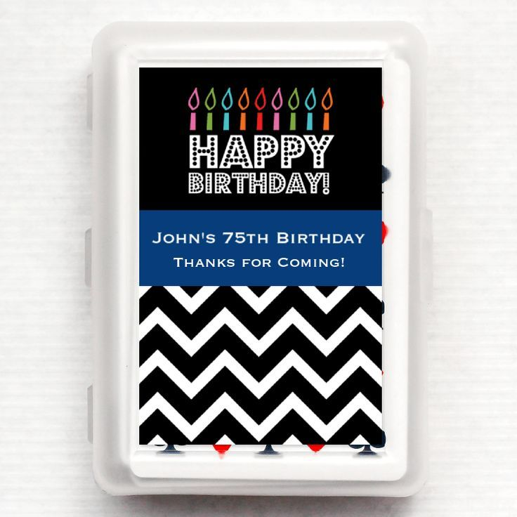 Personalized Playing Cards Party Favors