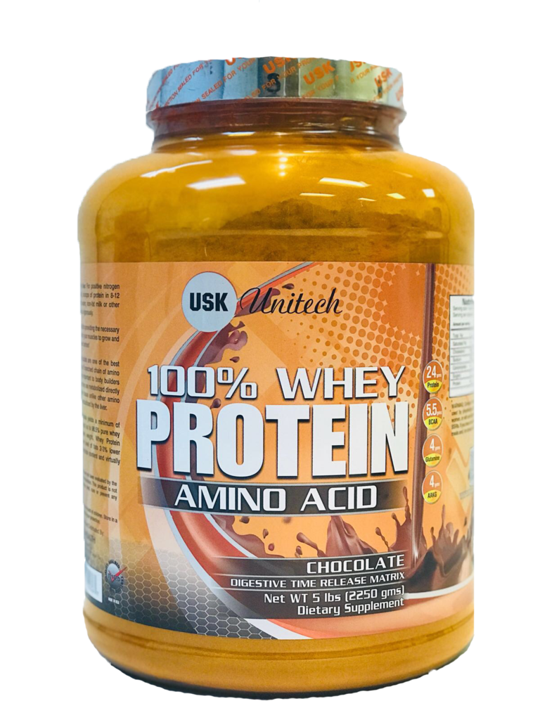 Buy USK Unitech - 100% WHEY PROTEIN AMINO ACID(CHOCOLATE), Online in India  at best Prices on Sakhealth.com, Free shipping & COD available.