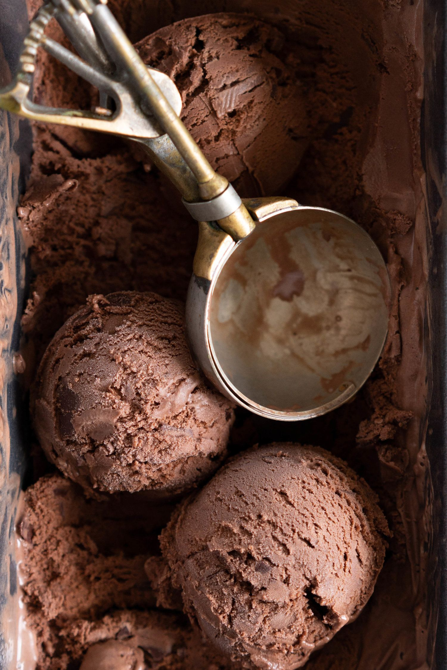 Chocolate Choux Ice Cream Sandwiches with Double Chocolate Ice Cream — Cloudy Kitchen #icecreamsandwich