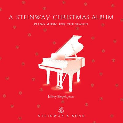 Christmas Album Cover Art.Classic Album Cover Art A Steinway Christmas Album