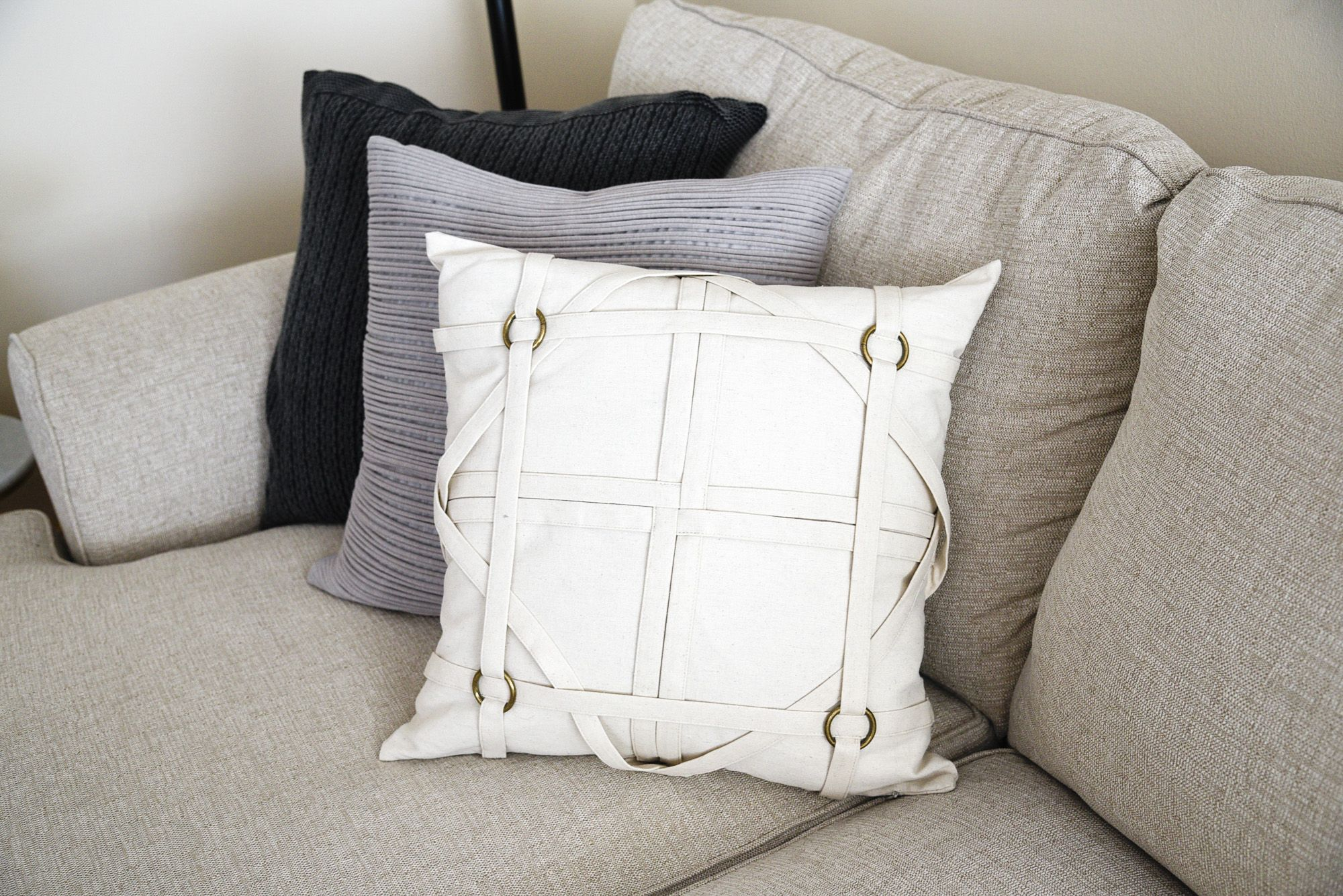 Mix and match accent pillows