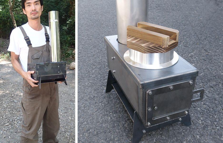 アウトドア・グッズというカテゴリーには収まらない本気の携帯用小型薪ストーブ
