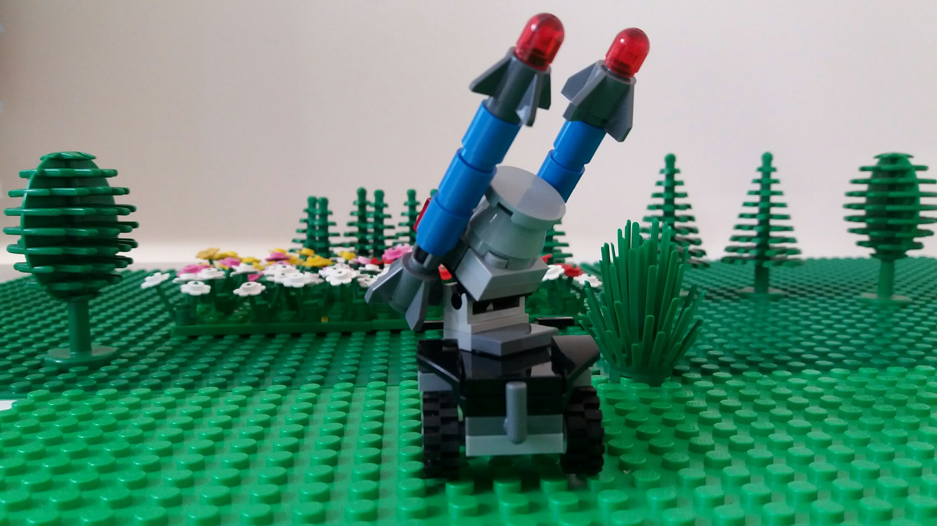 A Simple Sam Missile Launcher From My Website Minebricks Com