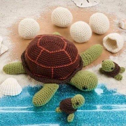 Crochet Patterns for Turtles | Amigurumi,Toys,Etc. | Pinterest ...
