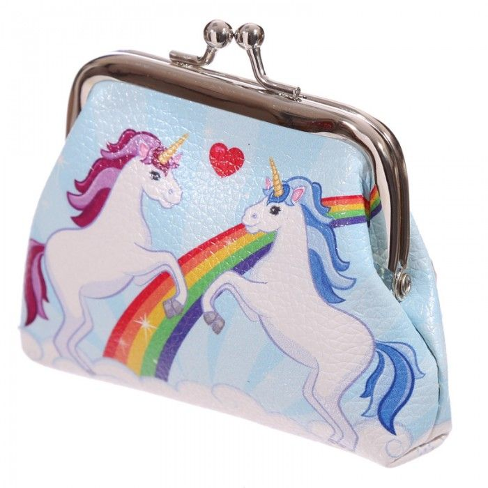 PUR27 - Portamonete - Unicorno - Lauren Billingham | Puckator IT #unicorno #portamonete #puckator
