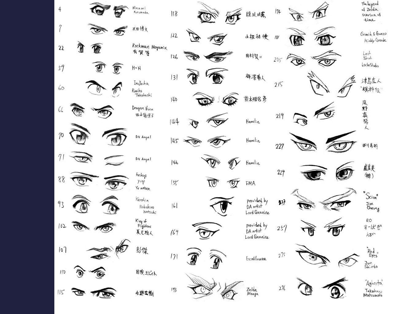 Anime Eyes Anime Eye Drawing How To Draw Anime Hair How To Draw Anime Eyes