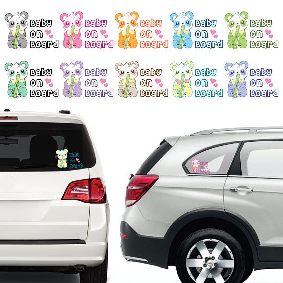 On This Page We Are Selling Our Custom Made Panda Bear Baby On - Custom made bumper stickers