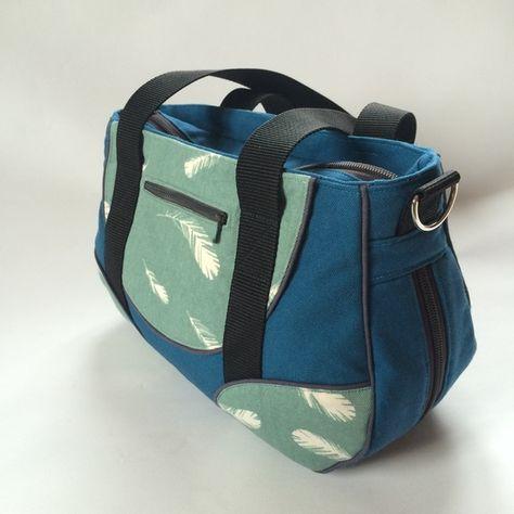 Kostenloses Schnittmuster Schnabelina Bag von Schnabelina #bagpatterns