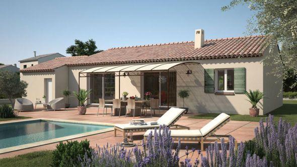 Modèle de maison Amandine GA V1 120 Tradition -  Retrouvez tous les - modele de construction maison