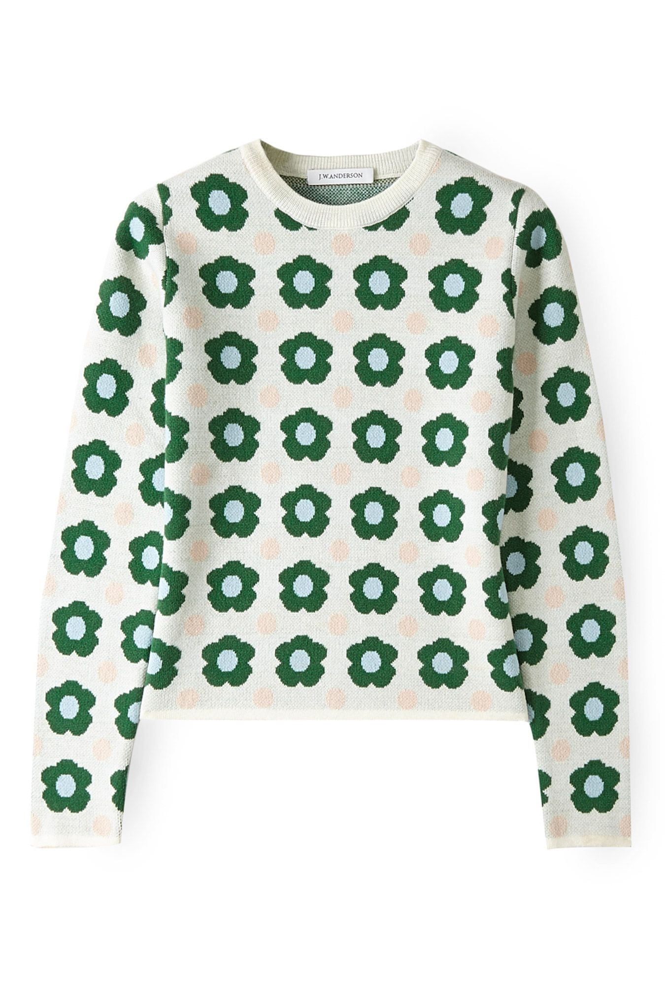 Green Floral Sweater by J W Anderson