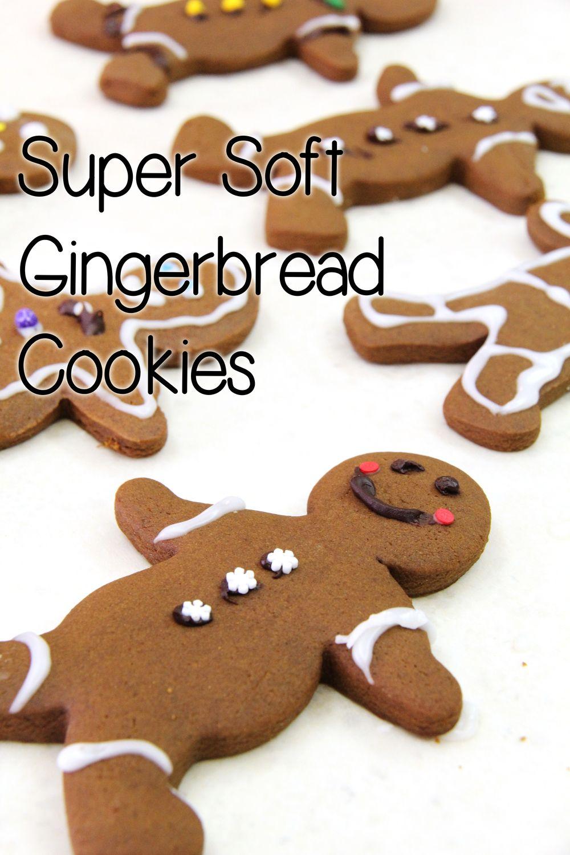 Super Soft Gingerbread Men Cookies In 2018 Dessert Pinterest