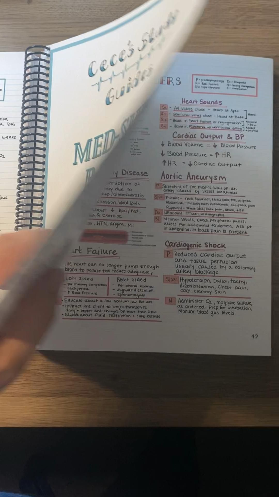 Nursing School Notes by Cece's Study Guides