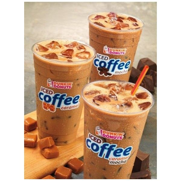 Dunkin Donuts Iced Coffee Image By Jason Fischer On