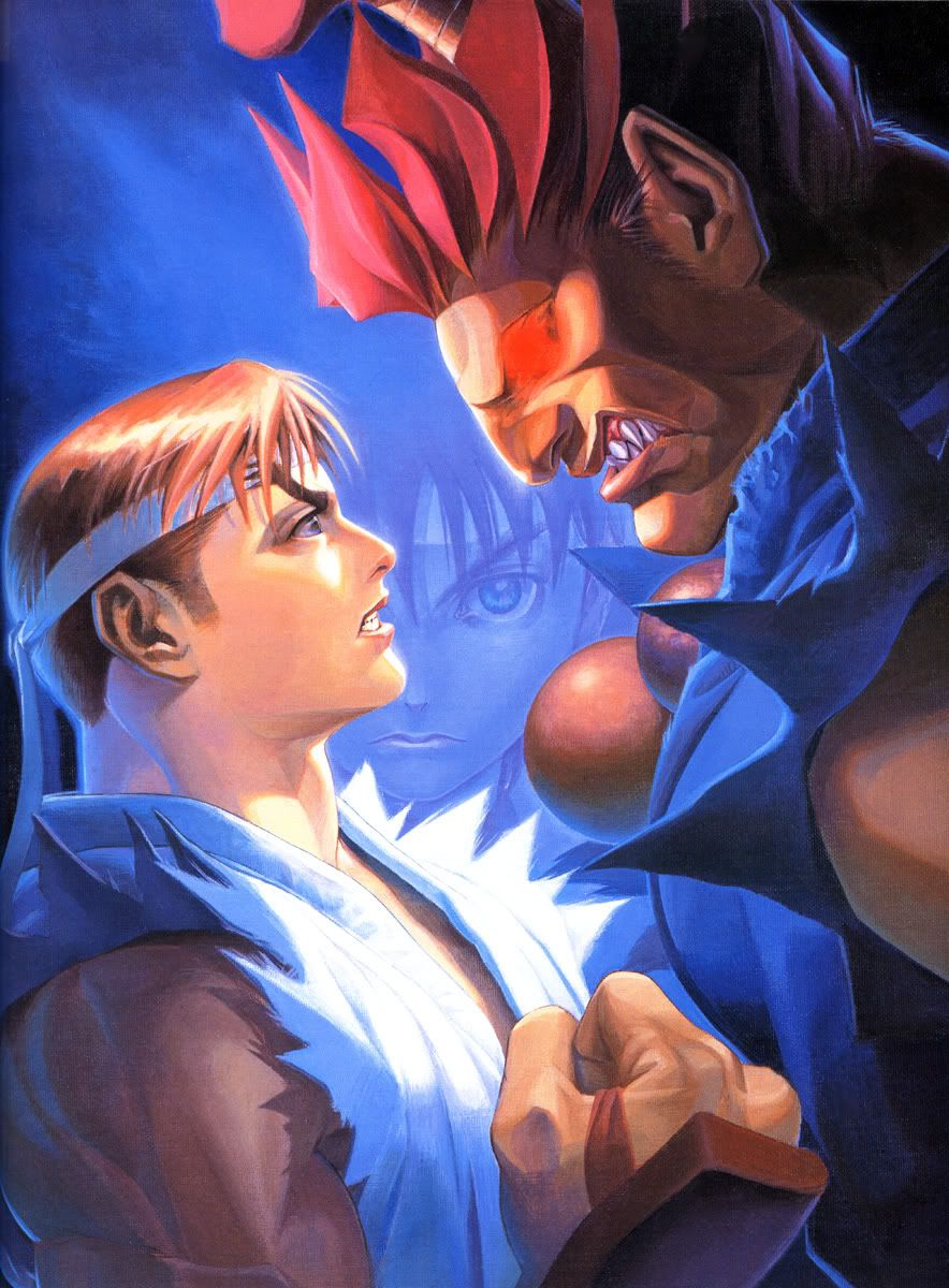84d3a7b0b9a Street Fighter Alpha 2 poster