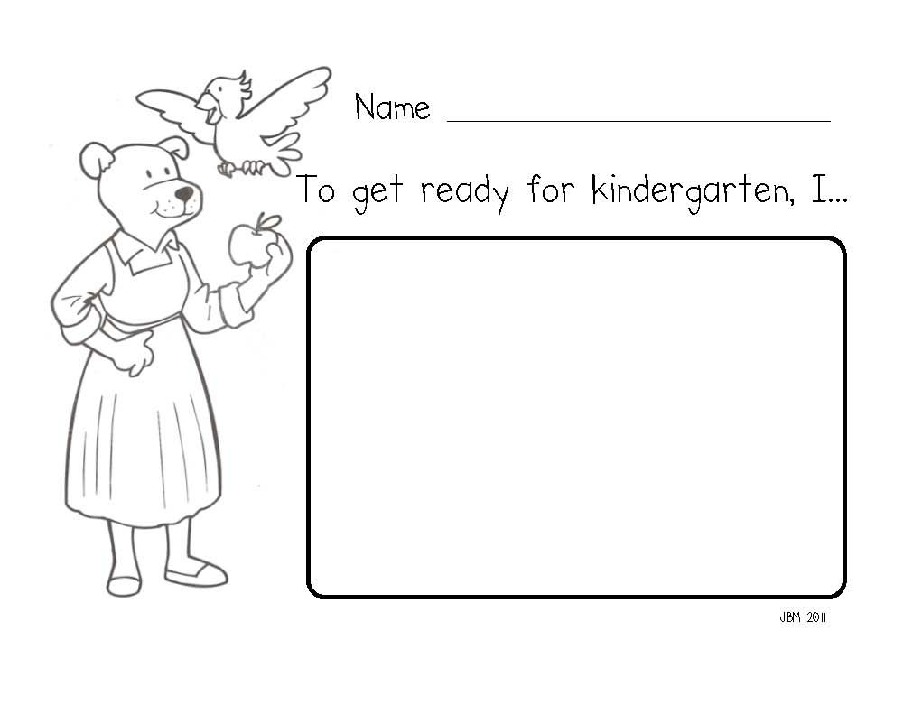 Mrs. Fullmer's Kinders: How Do You Get Ready For