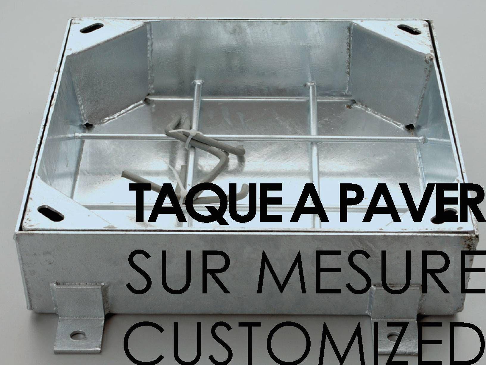 Couvercle A Paver Hauteur 100 120 Mm Sur Mesure Rosco Couvercle Mesure Acier Galvanise