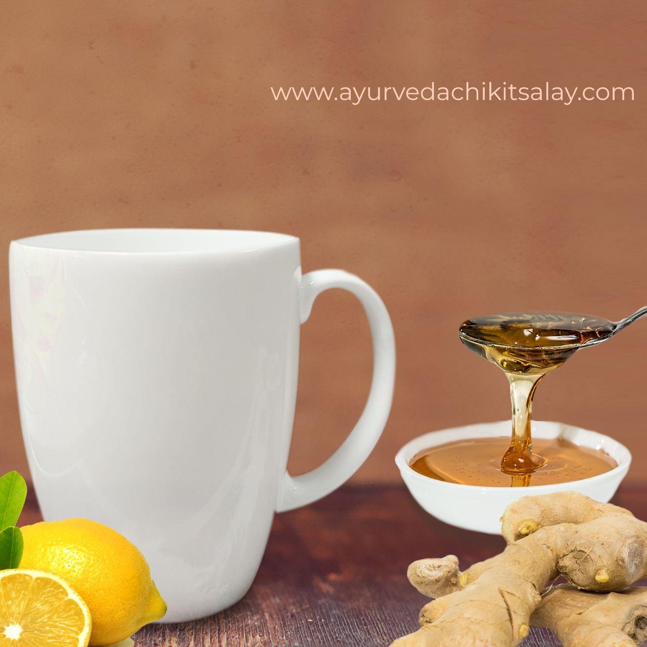 How to Make Ginger, Lemon & Honey Tea in 2020 Honey tea