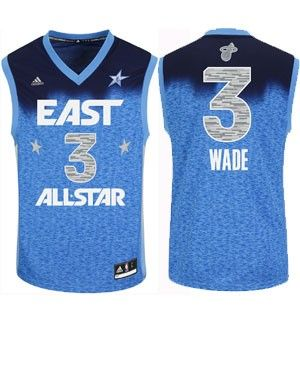 88b833622 adidas Miami HEAT Dwyane Wade 2012 NBA All Star Eastern Conference Replica  Jersey