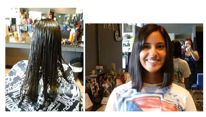 Long Layered Cut Into A Long Bob  Done by Lisa