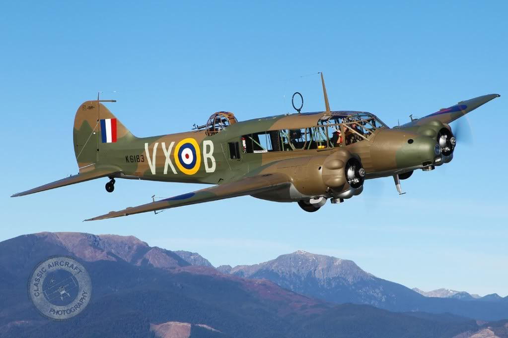 The Avro Anson was a British-built twin-engine multi-role ...