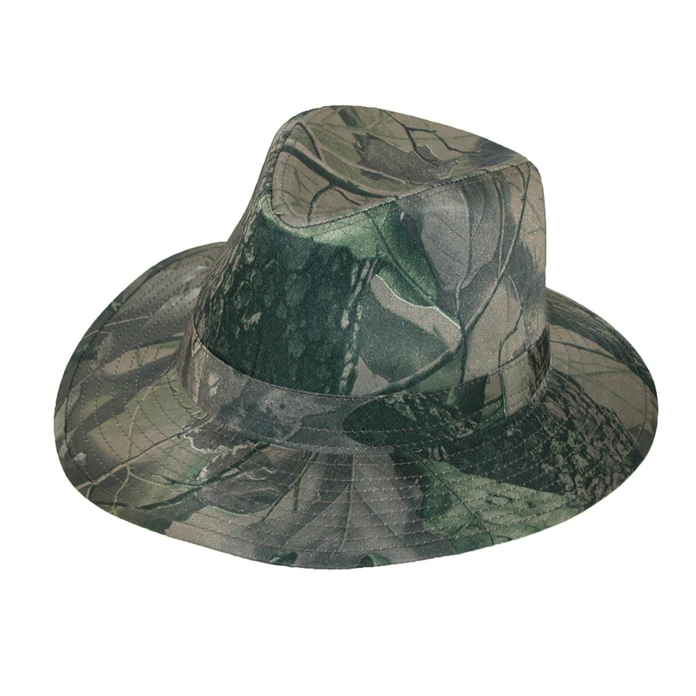 5f72242dc36dc 3 Oaks Mens Camo Print Wide Brim Fedora. Print is realtree camouflage. All  season hat. $12.95