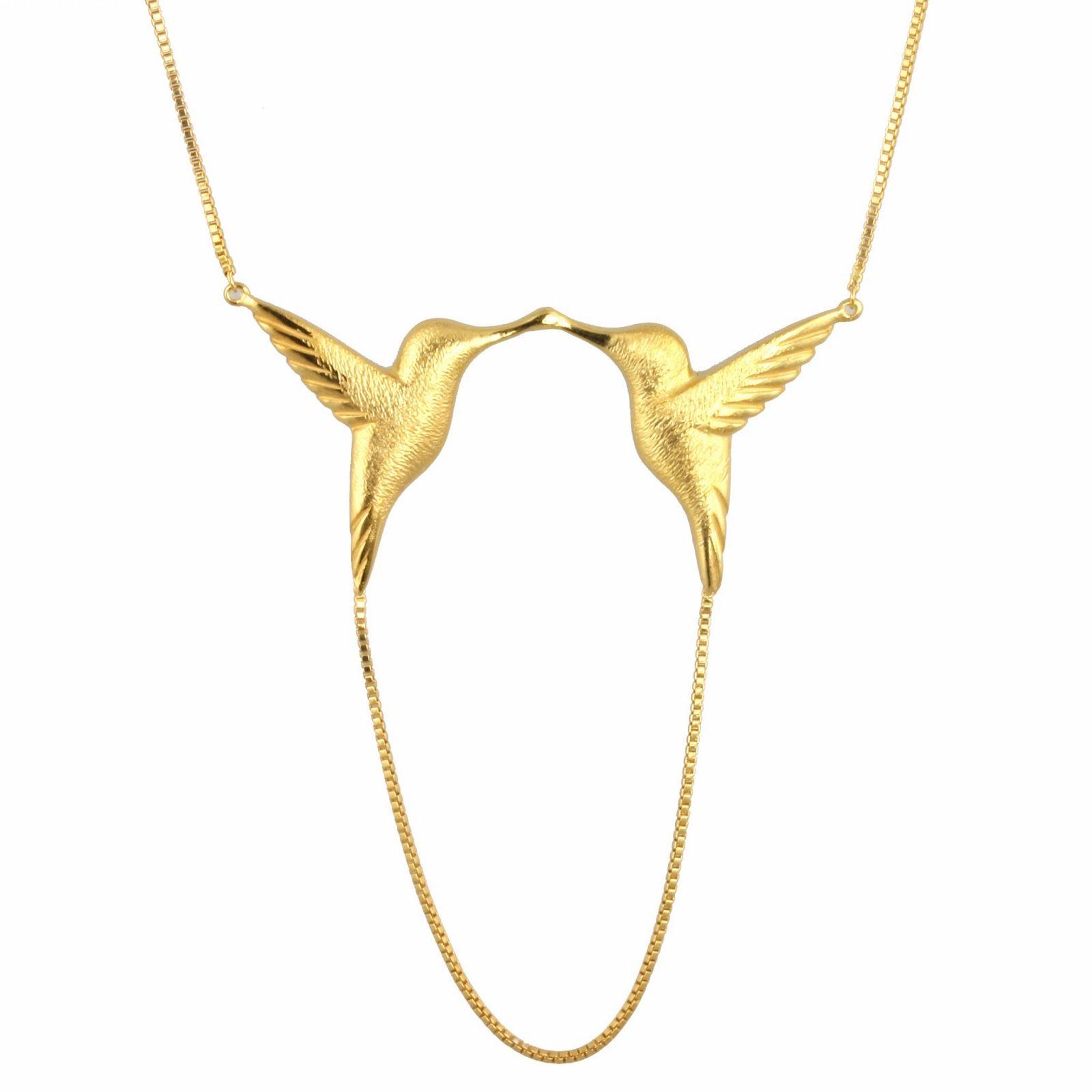 Jana Reinhardt Sterling Silver Twin Hummingbird Necklaces wVLSDgUi