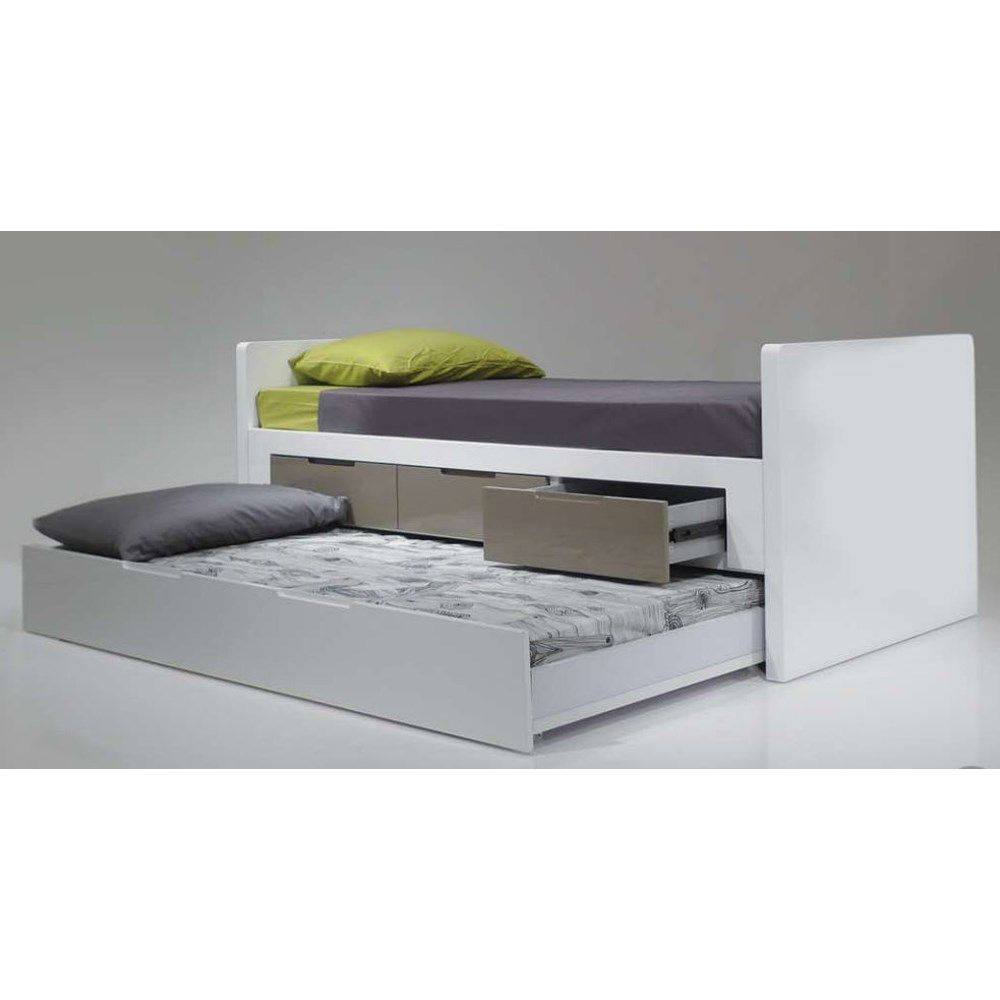 Mobital Jack And Jill Trundle Trundle Bed With Storage Single Trundle Bed Trundle Bed Kids