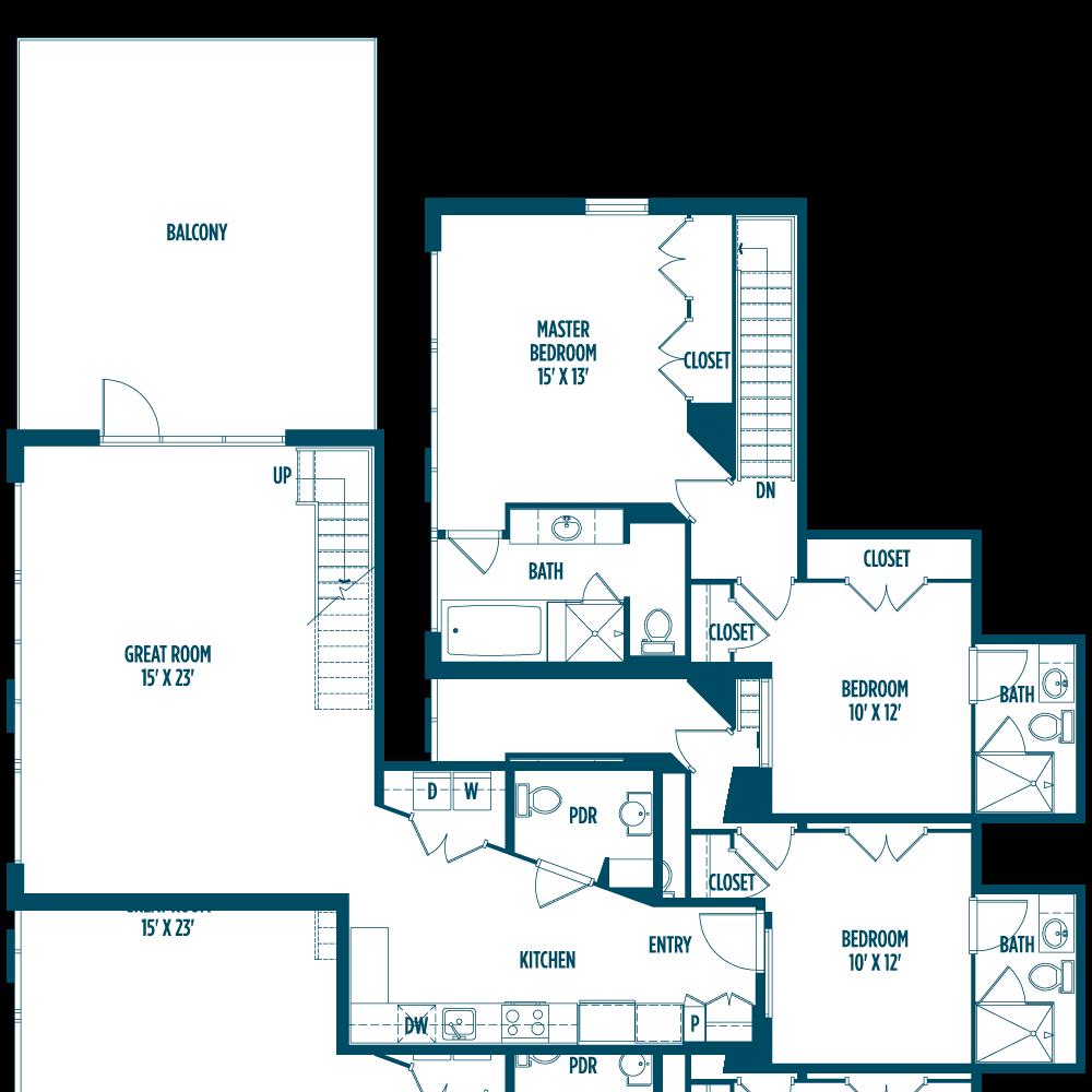 Pin by FoundryLoftsDC on Foundry Lofts Floor Plans Floor