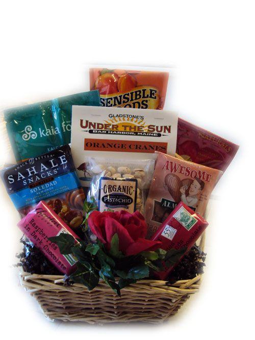 Healthy Valentine's Day Gift Basket