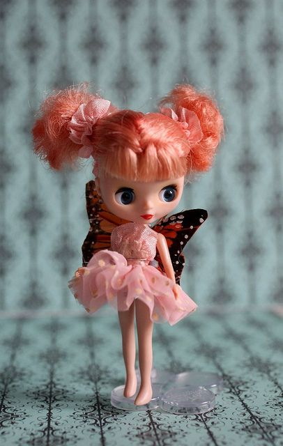 Clover - A Sugarplum Mab Girl by mab graves on Flickr. ~ Petite Blythe