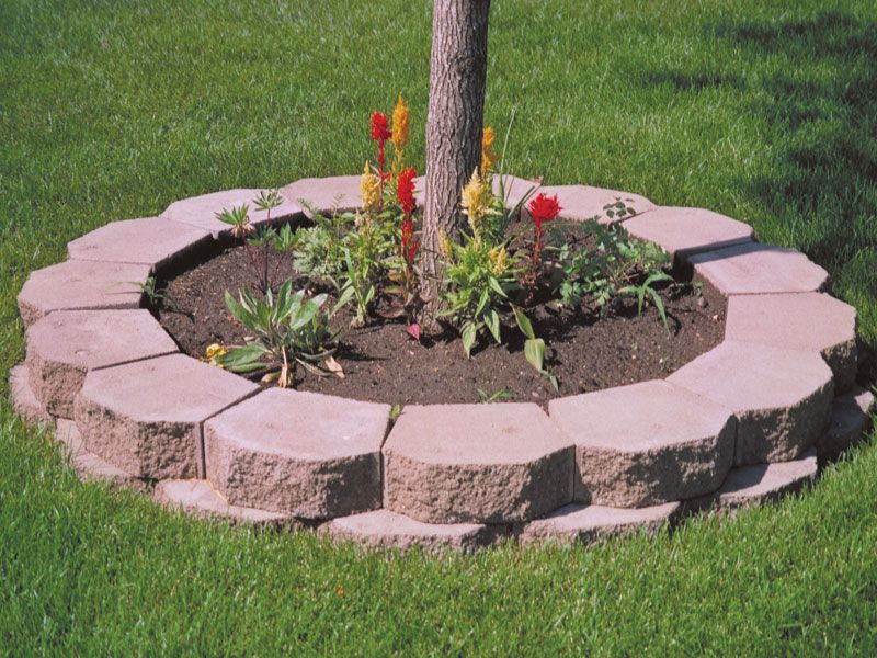Retaining Walls Keystone Retaining Wall Systems Landscaping Around Trees Landscaping Trees Tree Planters