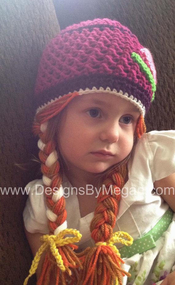 Princess Crochet Hat Pattern | gorros/niñas | Pinterest | Gorros ...