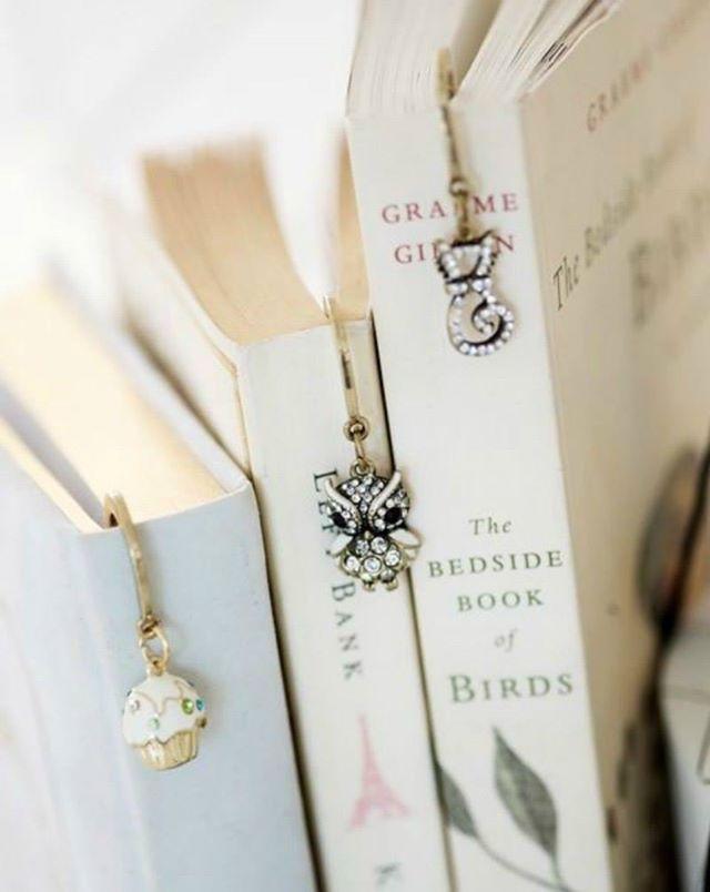 Cute bookmarks. <3