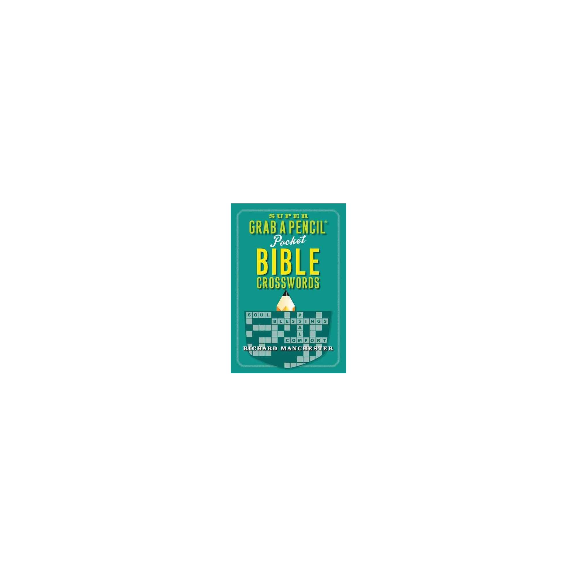 Super Grab a Pencil Pocket Bible Crosswords (Paperback) | Products ...