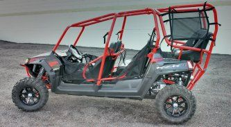 Polaris RZR-4 6 Seat Conversion | rides | Polaris rzr, Jeep seats