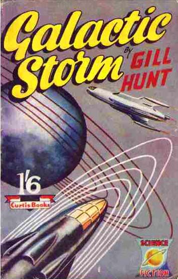 Galactic Storm by Gill Hunt