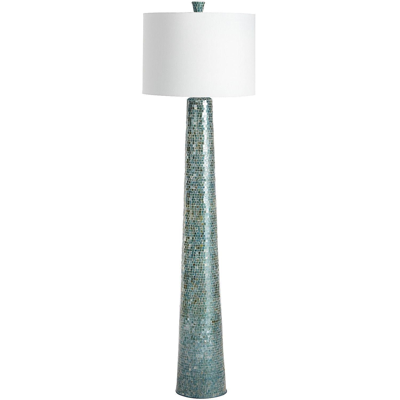 Pier One Table Lamps Oceans Mosaic Floor Lamp  Mosaic Floors Floor Lamp And Modern