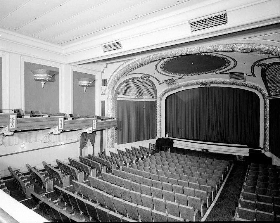 Paramount theatre baton rouge louisiana interior southwest