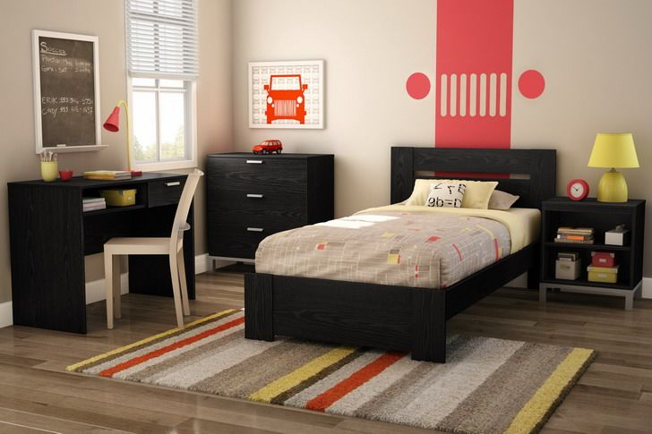 Small bedroom interior decorating for college student with ...