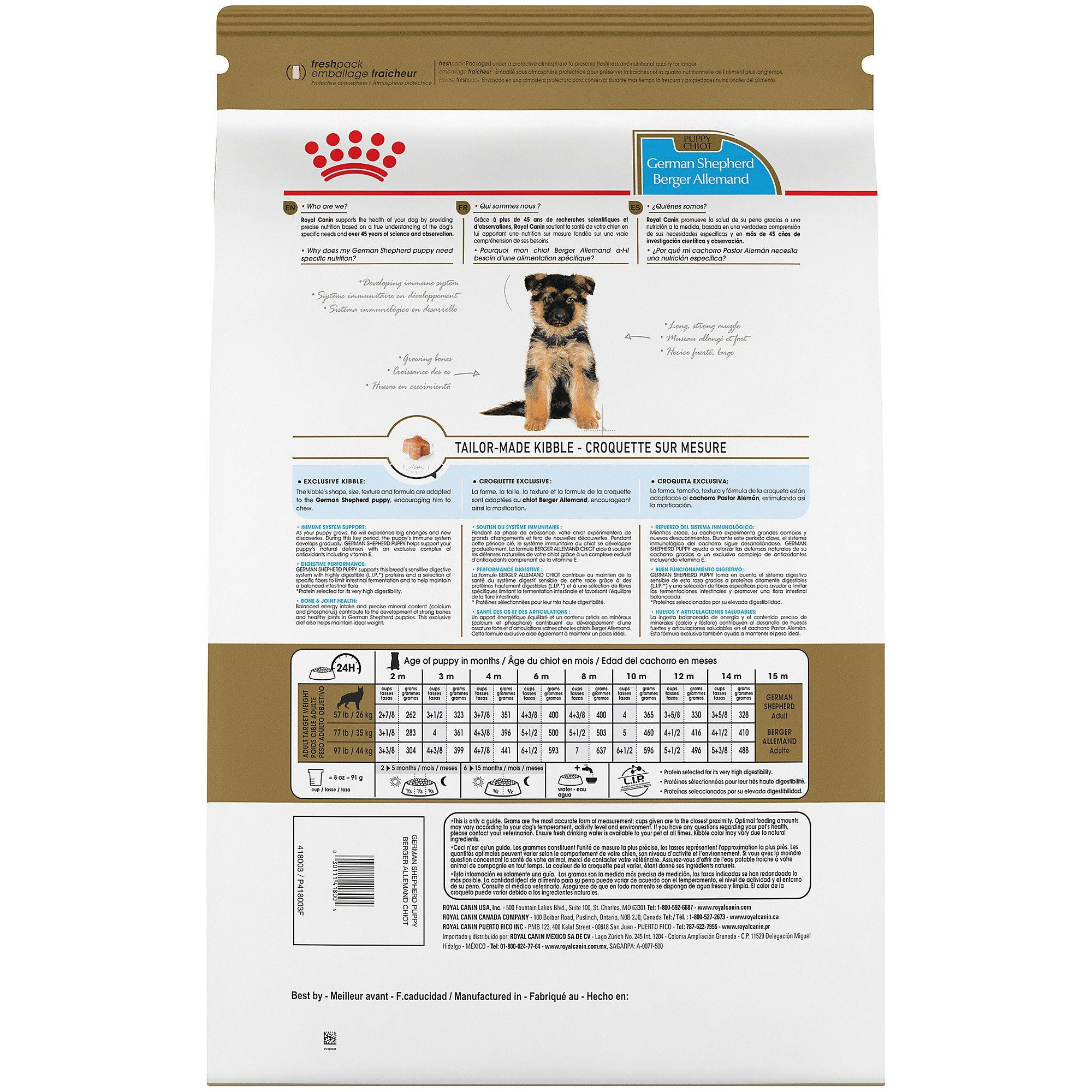 Royal Canin Breed Health Nutrition German Shepherd Puppy Dry Dog