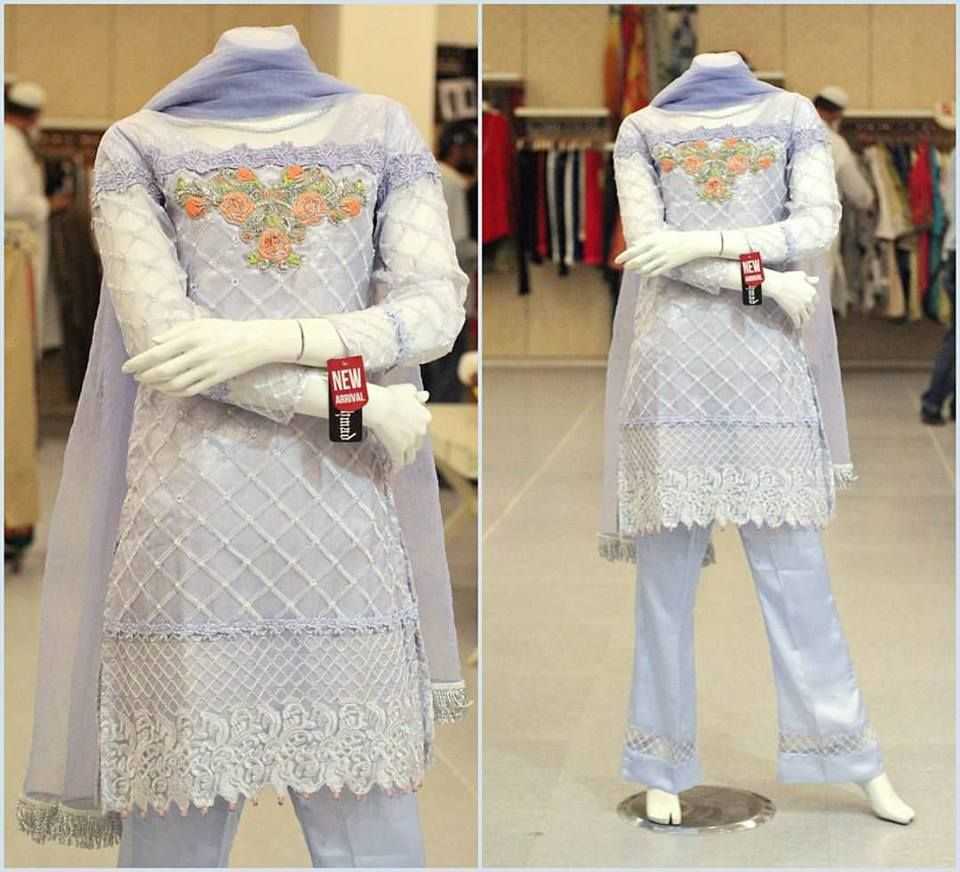 8b2f26820d6 Zahra Ahmad New Party Wear Winter Dresses For Girls 2017-2018 |  BestStylo.com
