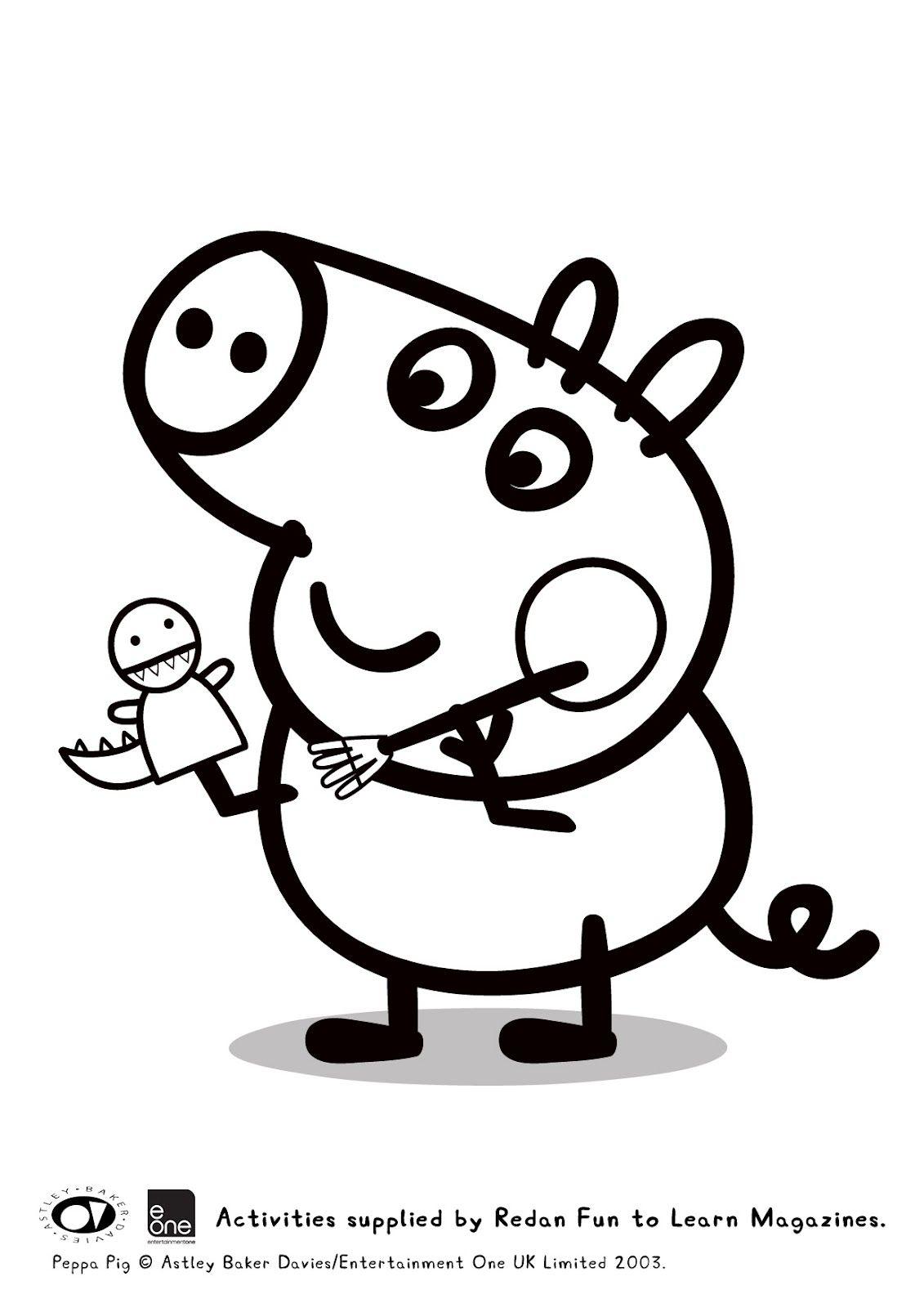 Giochi Di Peppa Pig Colorare.Schede Didattiche Per La Scuola Primaria Giochi Disegni Da