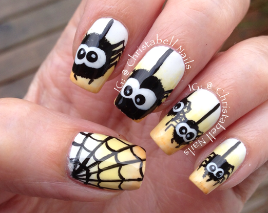 Halloween friendly spiders ombre nails by igchristabellnails halloween friendly spiders ombre nails by igchristabellnails prinsesfo Image collections