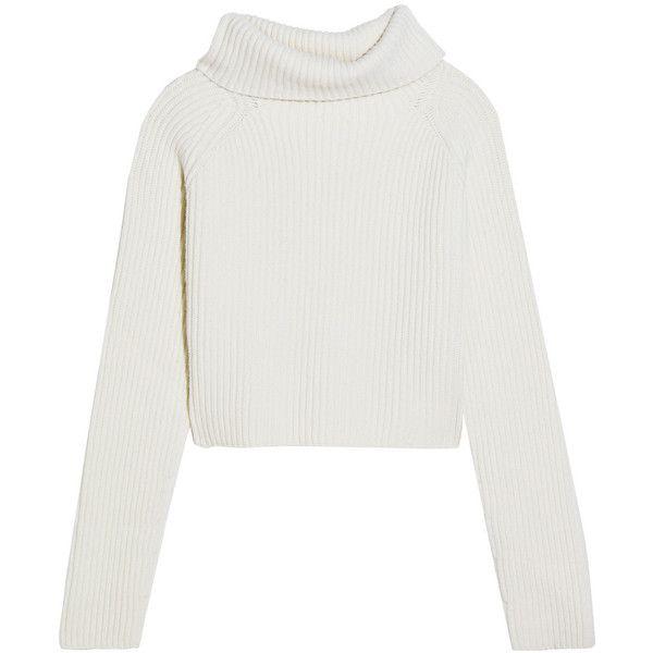 Haider Ackermann Cropped ribbed wool turtleneck sweater (15 785 ...