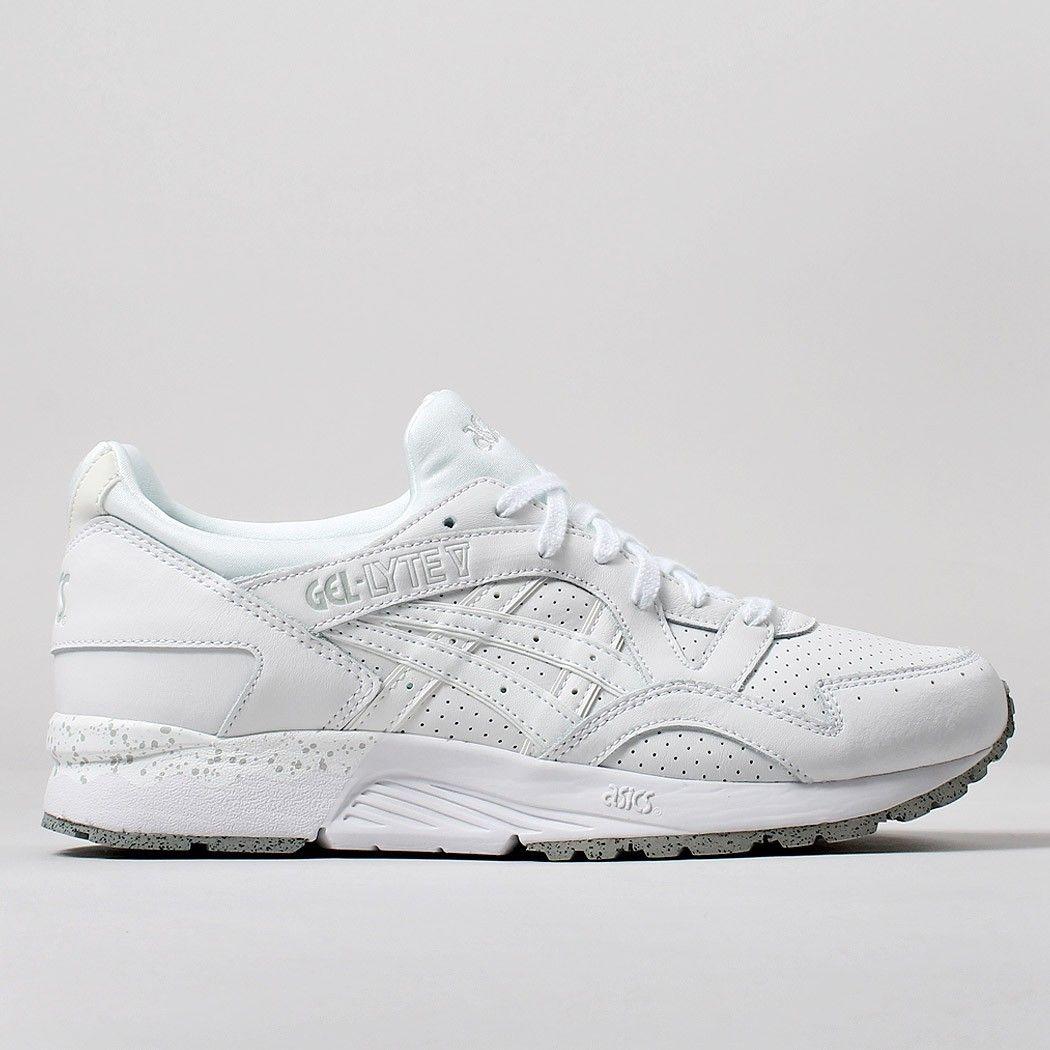 reputable site 00d2d 79f07 Asics Gel Lyte V Shoes - White/White   Sneaker Hype, Collabs ...